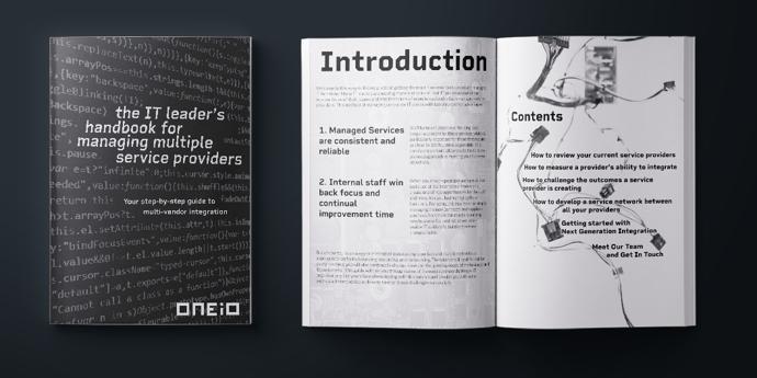 IT Leaders Handbook Mockup