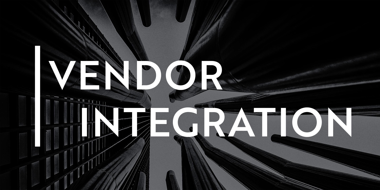 ONEiO Vendor Integration