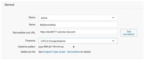 ServiceNow URL